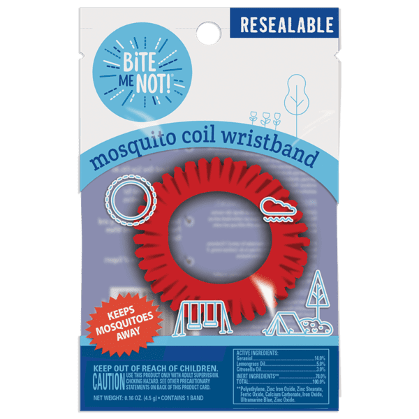 BiTE ME NOT!™ mosquito coil wristband