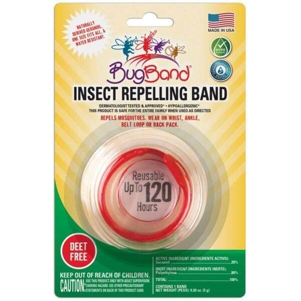 BugBand - Insect Repelling Band Old Packaging